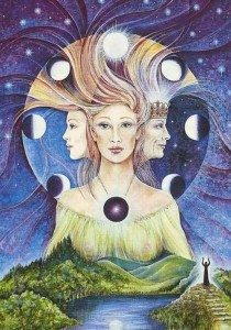 moon triple goddess