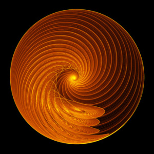 fractal spiral wheel